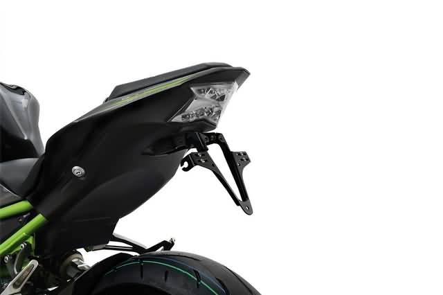 HIGHSIDER LICENSE PLATE BRACKET FOR KAWASAKI Z 900 2017 UP