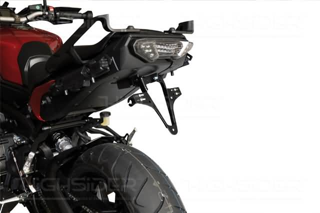 HIGHSIDER LICENSE PLATE BRACKET YAMAHA MT-09, TRACER, 15-