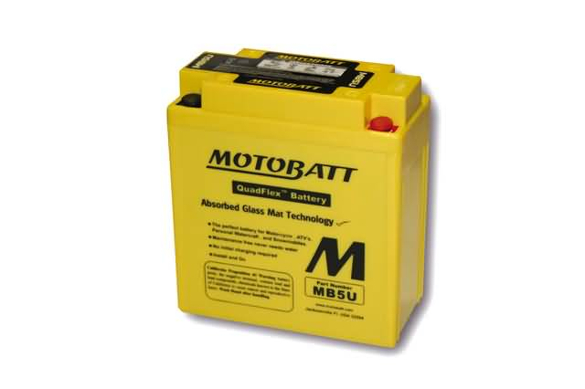 MOTOBATT BATTERY MB5U