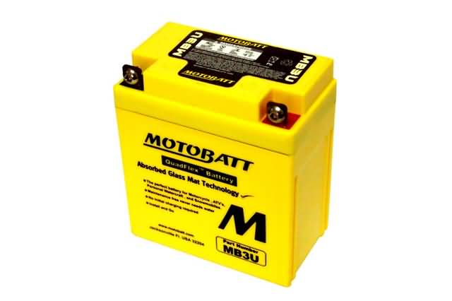 MOTOBATT BATTERY MB3U