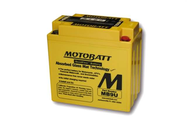MOTOBATT BATTERY MB9U, 4-PORTS