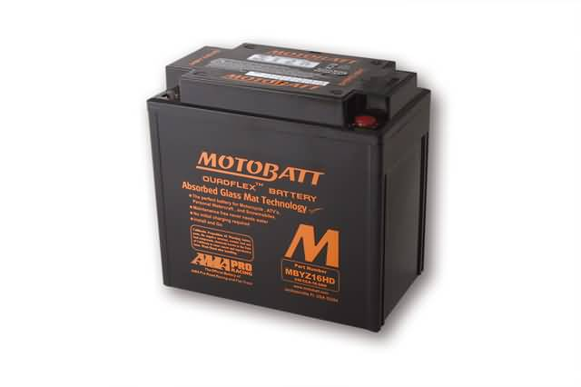 MOTOBATT BATTERY MBYZ16HD