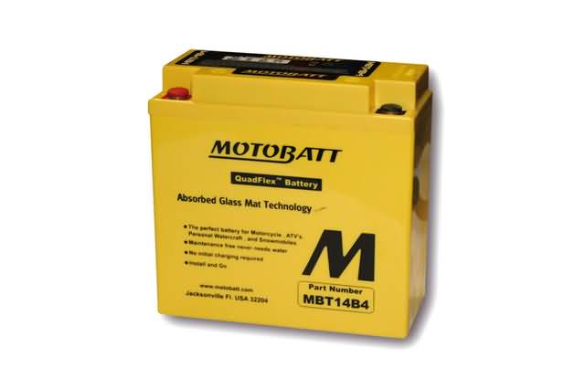 MOTOBATT BATTERY MBT14B4