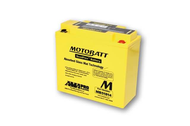 MOTOBATT BATTERY MB51814