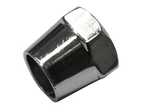 MIRROR NUT 17 MM, CHROME, M10 X 1.25 RH-THREAD