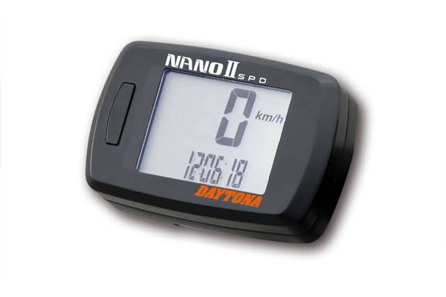 DAYTONA DIGITAL SPEEDO METER NANO 2 WITH SENSOR