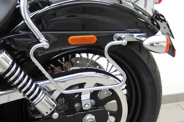 FEHLING SADDLEBAG SUPPORTS HD DYNA WIDE GLIDE 2010