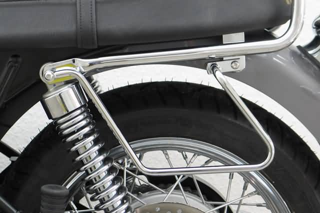 FEHLING SADDLEBAG SUPPORTS TRIUMPH BONNEVILLE T 100