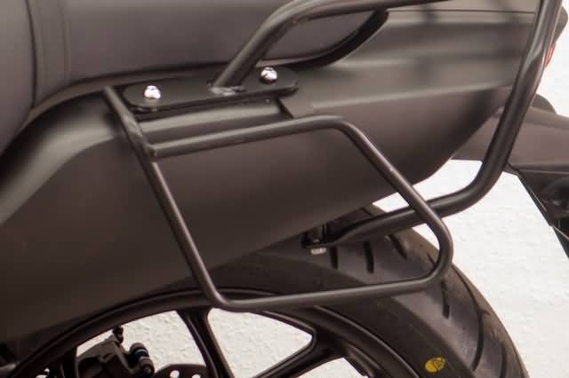 FEHLING SADDLEBAG SUPPORTS HONDA CTX 700 N, BLACK