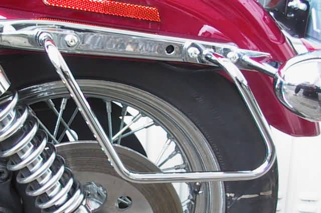 FEHLING SADDLEBAG SUPPORTS HD SPORTSTER XL SPORTSTER 883,