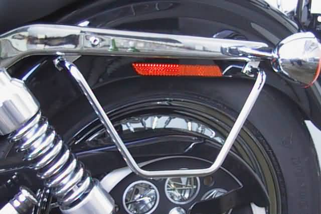 FEHLING SADDLEBAG SUPPORTS HD DYNA GILDE FXD DYNA SUPER GLIDE,