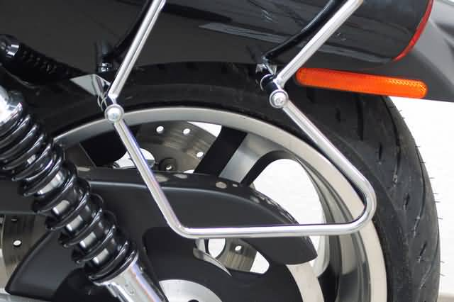 FEHLING SADDLEBAG SUPPORTS HD V-ROD MUSCLE