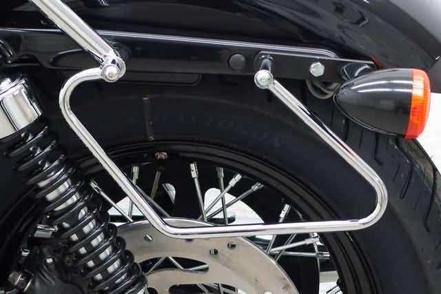 FEHLING SADDLEBAG SUPPORTS HD SPORTSTER EVO SINCE 2004, CUSTOM