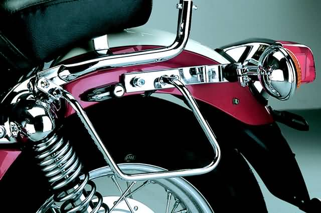 FEHLING SADDLEBAG SUPPORTS YAMAHA XV 535 UNTIL 98
