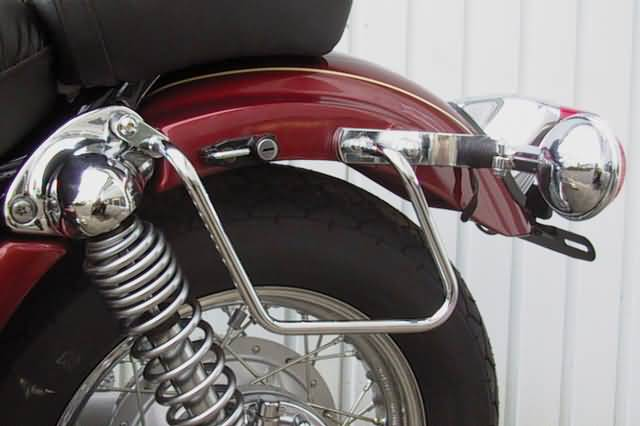 FEHLING SADDLEBAG SUPPORTS YAMAHA XV 535 UNTIL 99