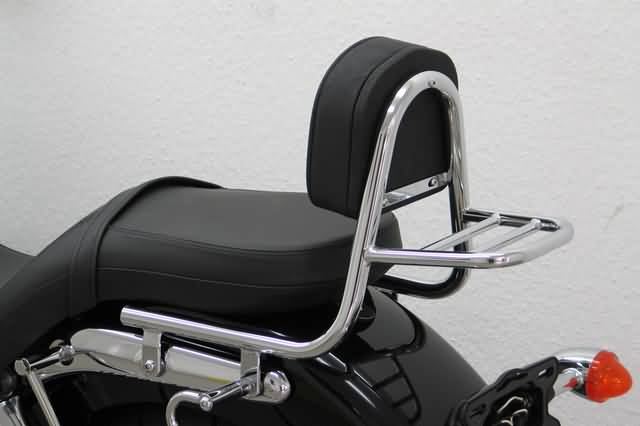 FEHLING SISSY BAR WITH BACKREST AND LUGGAGE RACK, TRIUMPH A