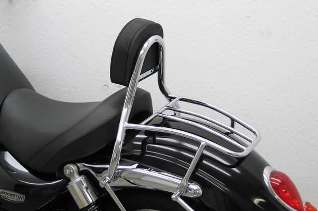 FEHLING DRIVER SISSY BAR WITH BACKREST & LUGGAGE RACK, TR ROCKET