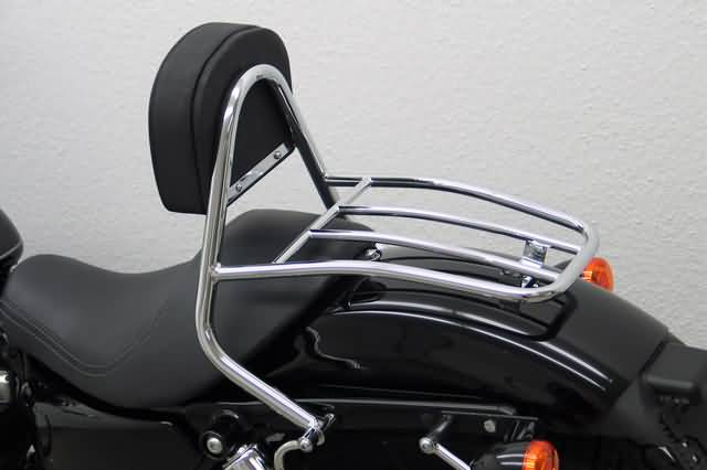 FEHLING DRIVER SISSY BAR WITH BACKREST & LUGGAGE RACK, HD SPORT