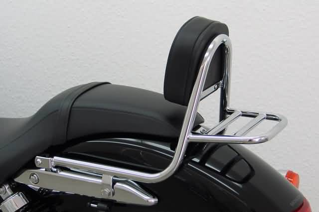 FEHLING SISSY BAR WITH BACKREST AND LUGGAGE RACK, HONDA VT 750 C