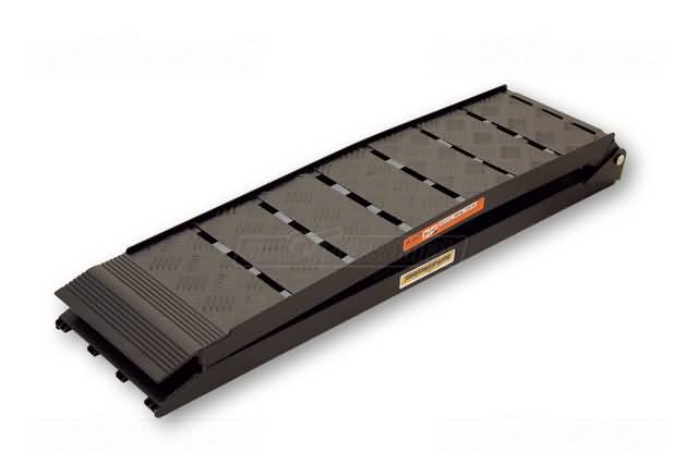 MOTOPROFESSIONAL ALU- FOLDING RAMP HEAVY DUTY, BLACK