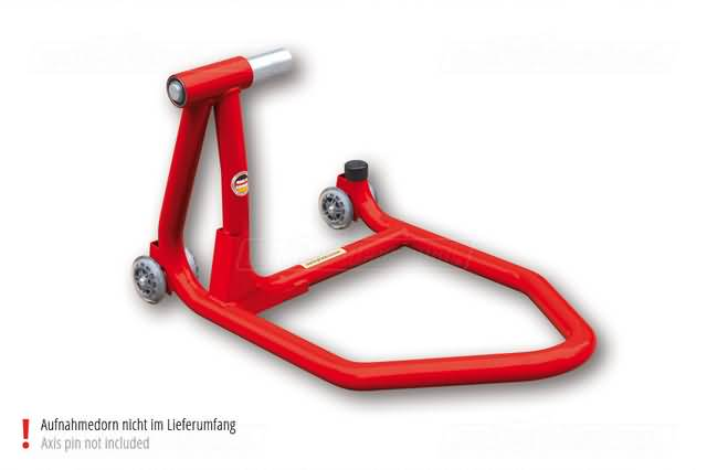MOTOPROFESSIONAL SINGLE ARM STAND, RED