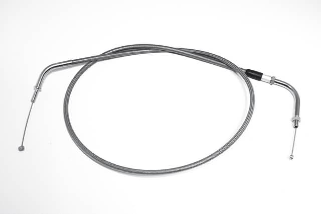 STEEL BRAIDED IDLE CABLE, VN900 CLASSIC, 06-09