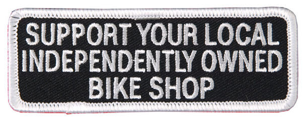 Support Your Local Shop Patch